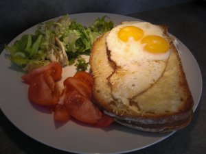 Croque monsieur campagnard