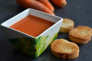 Soupe carotte - orange - gingembre