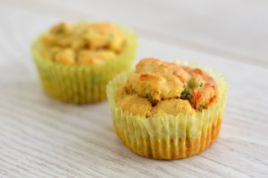 Muffins Surimi - Petits Pois - Curry