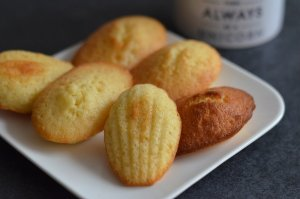 Madeleines à l'orange