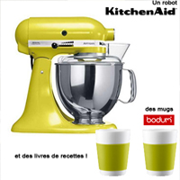 Jeux concours sur le - Livre de cuisine kitchenaid ...