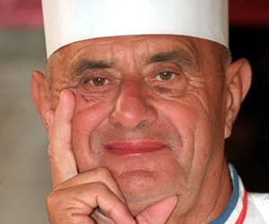 Portrait de grand chef cuisinier paul bocuse for Cuisinier lyonnais